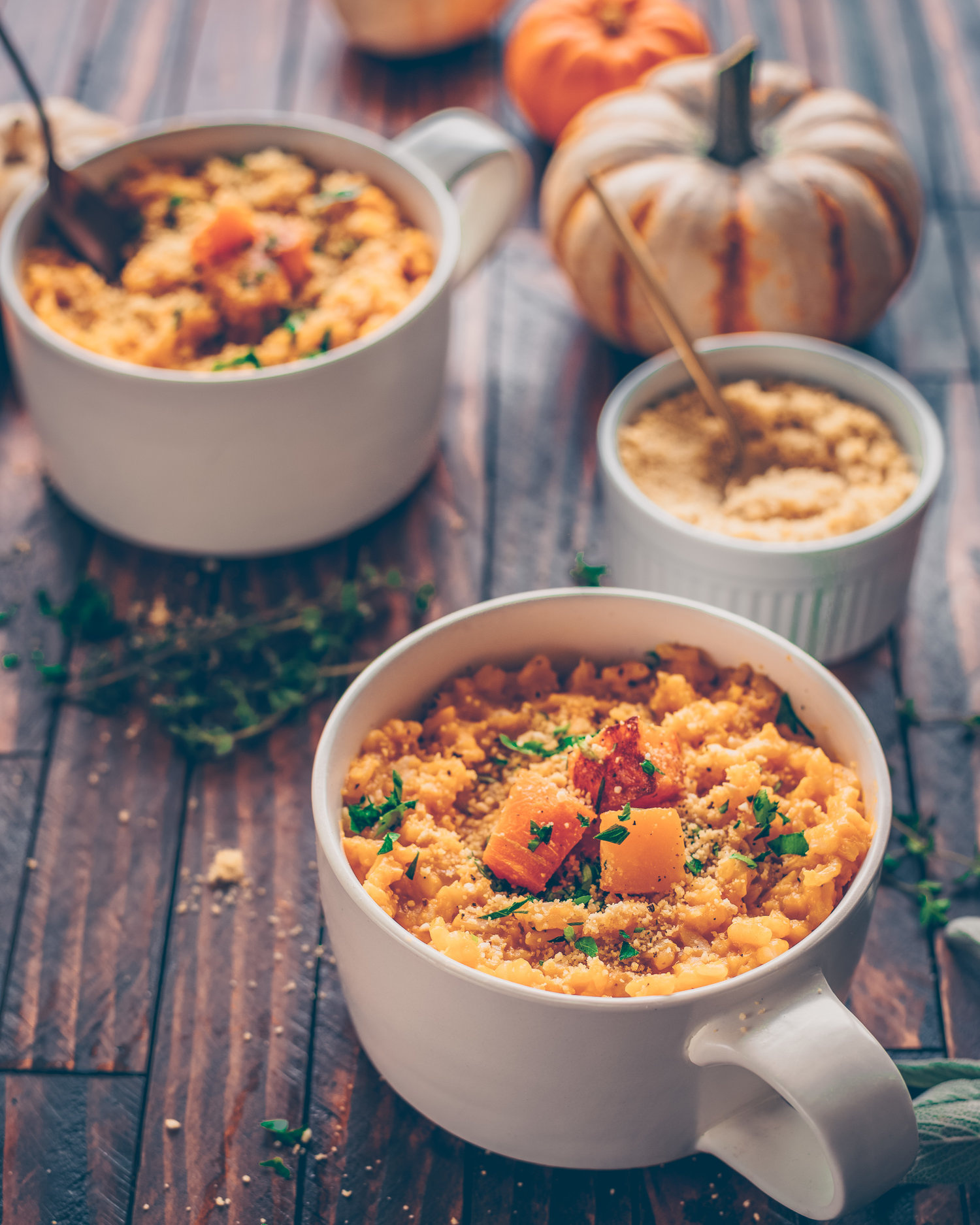 Instant Pot Video Butternut Squash Risotto — Rainbow Plant Life
